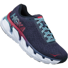 Hoka One One Elevon Chaussures de trail Femme, marlin/blue ribbon